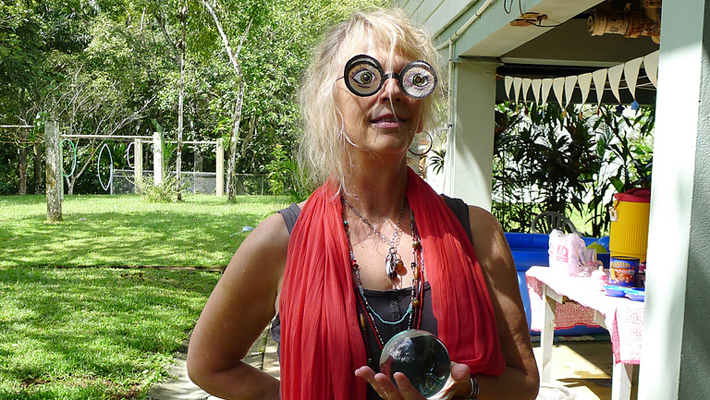Professor of Divination, Sybill Trelawney