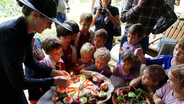 Flobberworm cupcakes