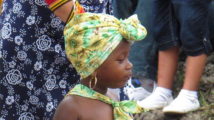 Congo girl